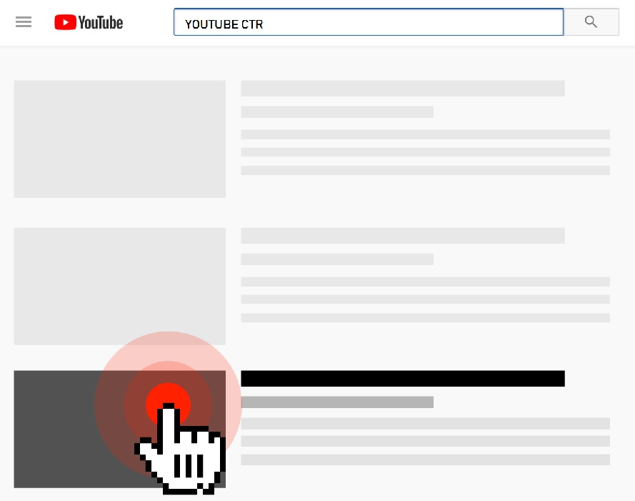 YouTube Click Through Rate – How To Increase Clicks On
